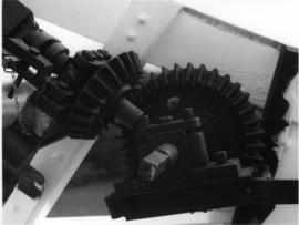 Detail of winding gear, King's Mill, Shipley
