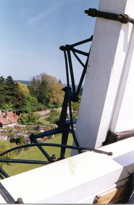 Stocks from left side of cap gallery, Buttrum's Mill, Woodbridge