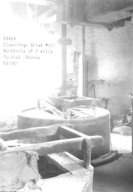 Stones in the Great Mill in Claverling, Essex