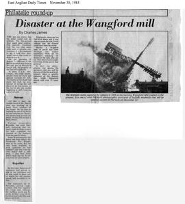 """Disaster at the Wangford mill""."