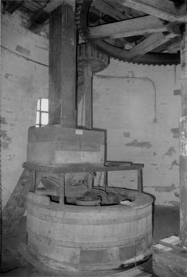 Mount Pleasant Mill Millstones in tun