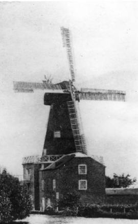 Wind, steam and water mill, Kennington, in working order