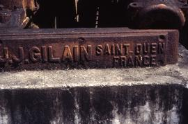 """18 - J J Gillain Saint Ouen, France Engine builder Butterfly Fm Mart"""