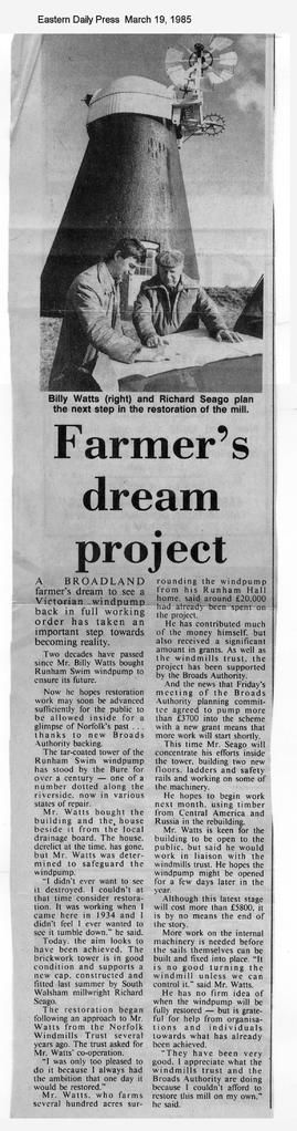 """Farmer's dream project"""