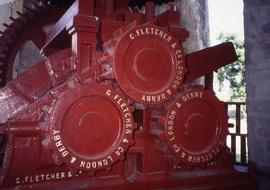 """28 - Fletcher and Co Compact crusher unit Betty's Hope Antigua"""