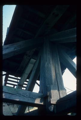 Trestle of post mill