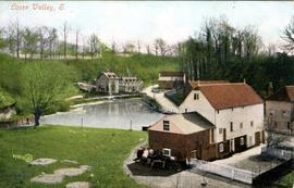 View of mill and pond