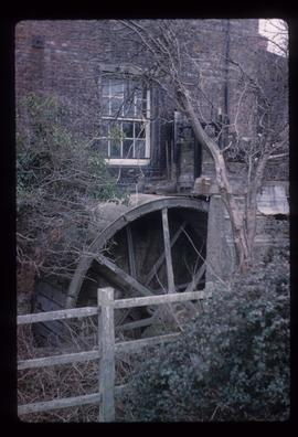 Close-up of wheel, Lower Mill, Polegate
