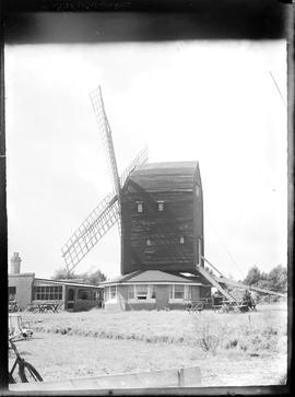 Durrington Mill, High Salvington, preserved with concrete roundhouse