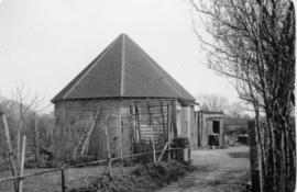 Base, smock mill, Staplehurst