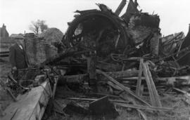 Wreckage, West Hougham Mill, Hougham