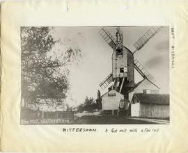 Old Mill, Wittersham, showing fantail