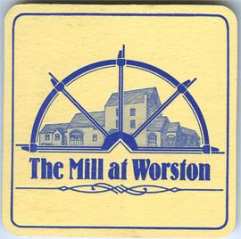 FWG 03638 Beermat from the Mill at Worston