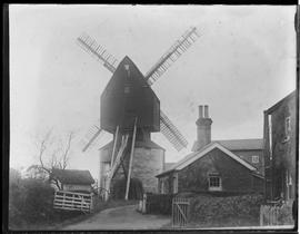 Post mill, Ifield, Crawley, in working order
