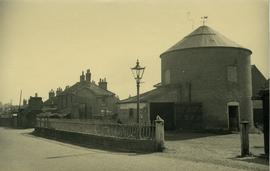 Two storey post mill roundhouse, Saxmundham