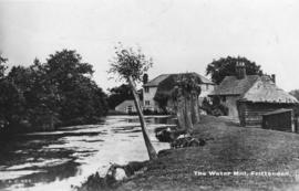 View from upstream, Maplehurst Mill, Frittenden