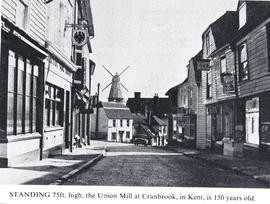 View from High Street, Union Mill, Cranbrook