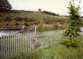 Photograph of the sluice at Martry Mill, Meath, Ireland