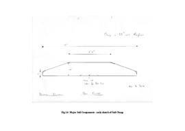 Major Sail Components: early sketch of sail clamp