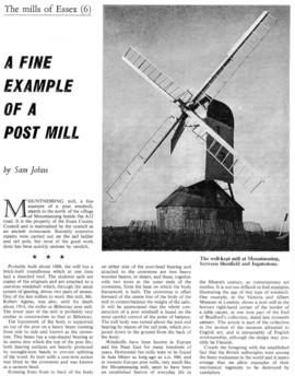 """A fine example of an old mill"""