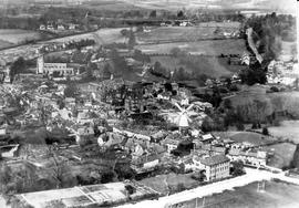 Aerial Photo of Cranbrook showing Union Mill