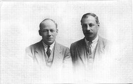 Photo of Phillip Hancock and John Russell