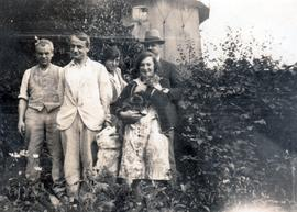 Russell family photograph
