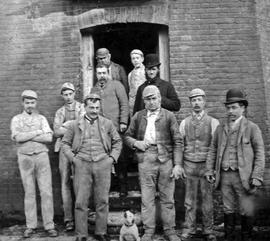 Union Mill workers