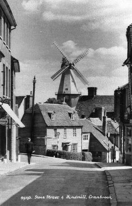 """Stone Street and Windmill, Cranbrook"""