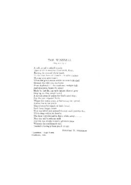 """The Windmill"" (Poem)"