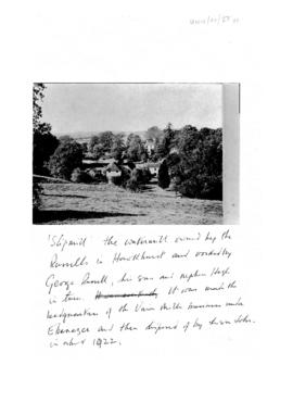 View of Slipmill Hawkhurst with note