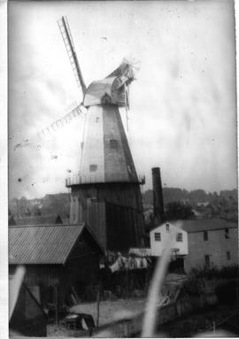 Photo from rear of mill